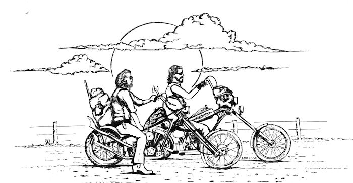 Chopper Bikes Drawings Sketches of Bikes Choppers